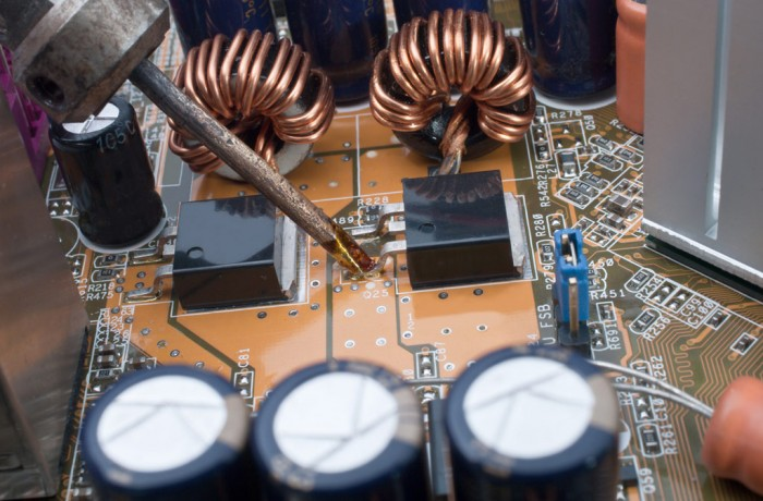 Reparatur von Elektronik