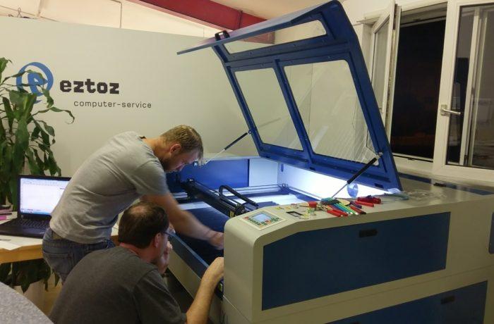 Plotter und Laser Cutter